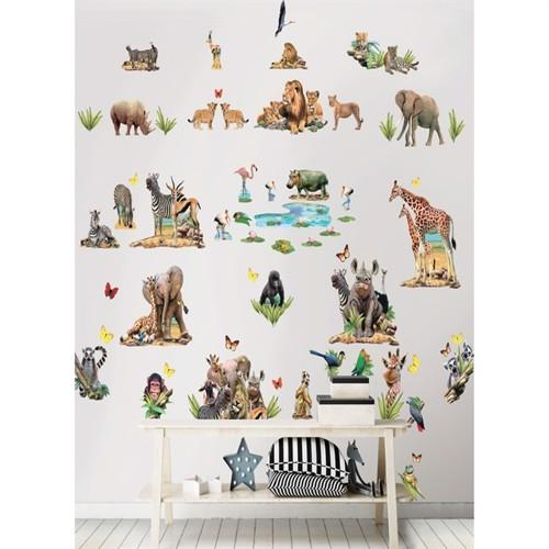 Image of Jungle Safari Wallstickers (5060107045439)