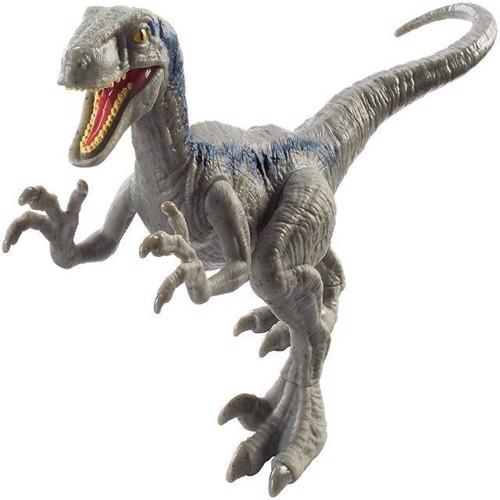 Image of Jurassic World - Attack Pack - Velociraptor Blå (FPF12) (0887961607536)