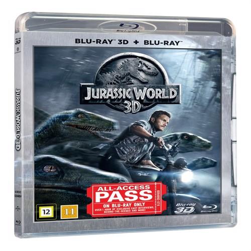 Image of Jurassic world 3d 2d Blu-ray (5053083048648)