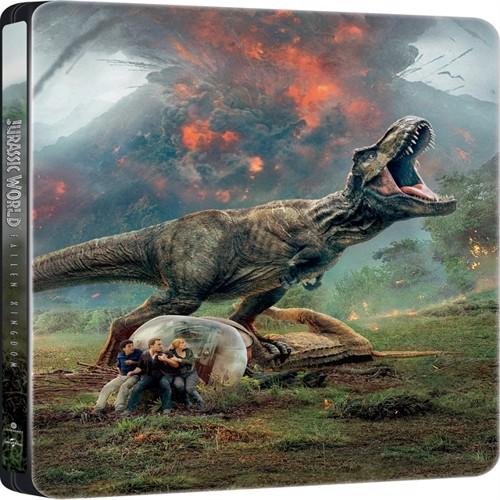 Image of Jurassic world, fallen kingdom, Blu-ray + 4K (5053083165284)