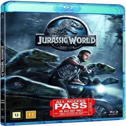 Image of Jurassic World Jurassic Park 4 Blu-ray (5053083048624)
