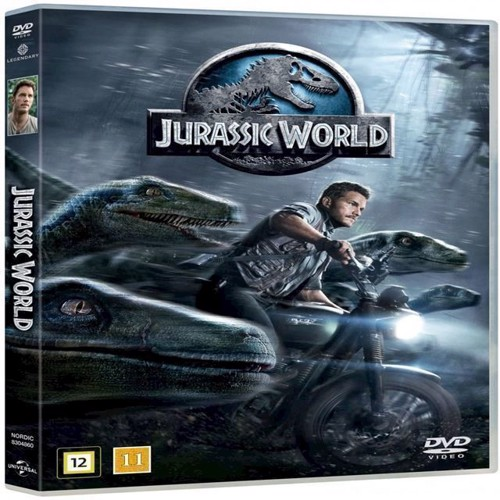 Image of Jurassic World Jurassic Park 4 DVD (5053083048600)