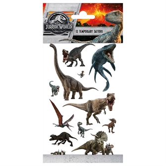 Image of Jurassic World Tattoos (8718819312864)