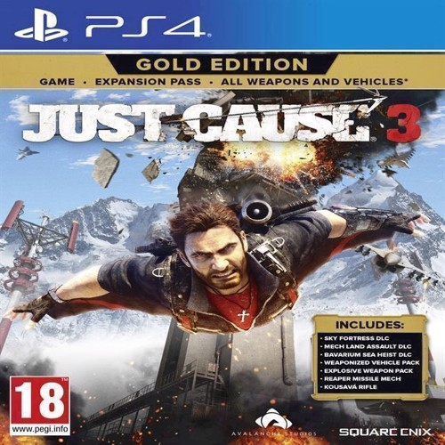 Image of Just Cause 3 - Gold Edition - PS4 (5021290078154)