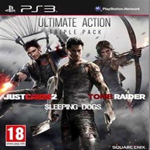 Image of Just Cause 2, Sleeping Dogs Tomb Raider Bundle - PS3 (5021290066564)
