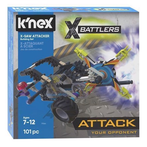 Image of KNex byggesæt XSaw Attacker, 101 dele