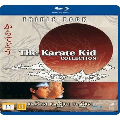 Image of Karate Kid, Collection, 3 film, Blu-ray (5051162331278)