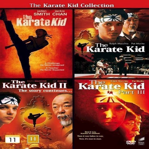 Image of Karate Kid Collection, The 4 film DVD (5051162324515)