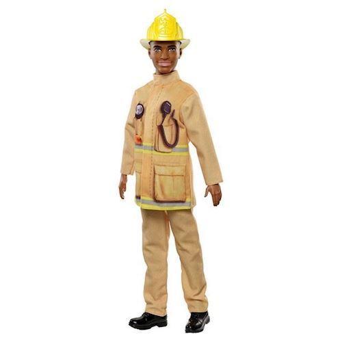 Image of Barbie ken, brandmand
