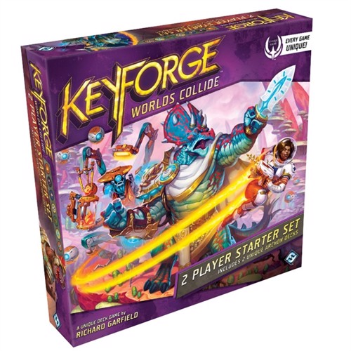 Image of Keyforge worlds collide twoplayer starterset (0841333110352)