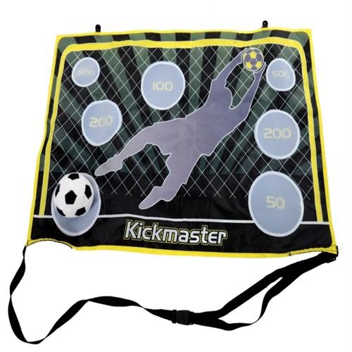 Image of Kickmaster Indendørs Fodboldmål Med Velcro (5017915612209)