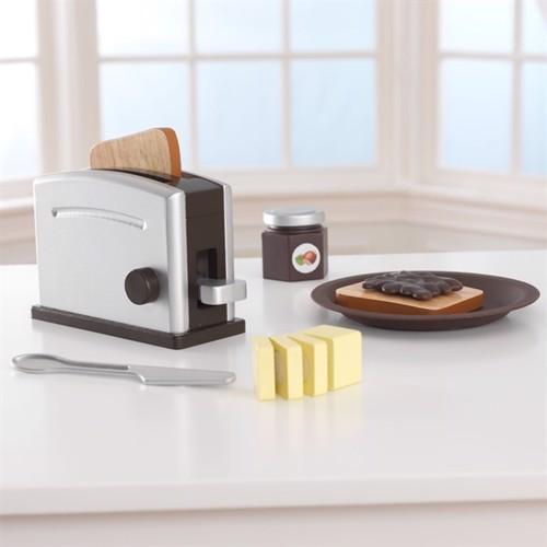 Image of Kidkraft Espresso Træ Toaster