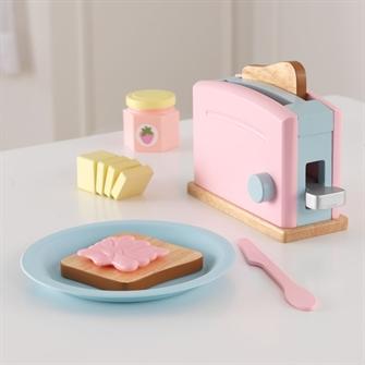 Image of Kidkraft Pastel Træ Toaster