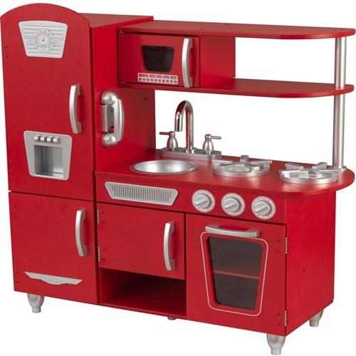 Image of Kidkraft Vintage Køkken Rødt