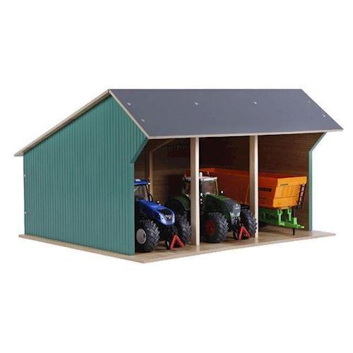 Image of Kids Globe bondegårds lade til traktor, large