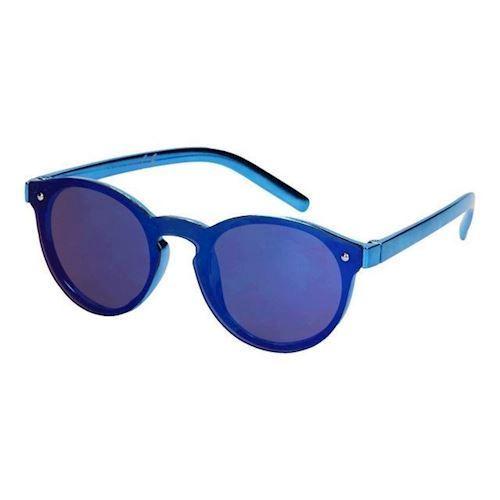 Image of Børnesolbriller metallik blå