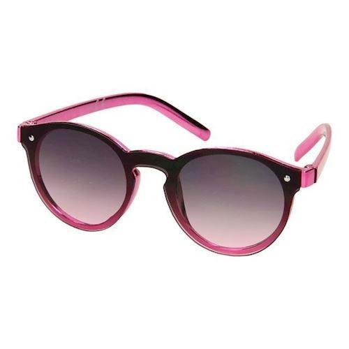 Image of Børnesolbriller metallik lyserød