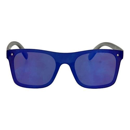 Image of Børnesolbriller wayfarer ful ramme, blå