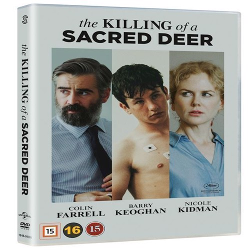 Image of Killing of a Sacred Deer, The DVD (5706169000473)