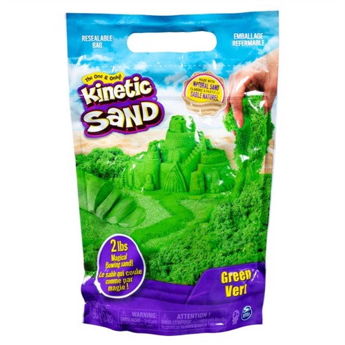Image of Kinetic sand farvepakke 900g grøn