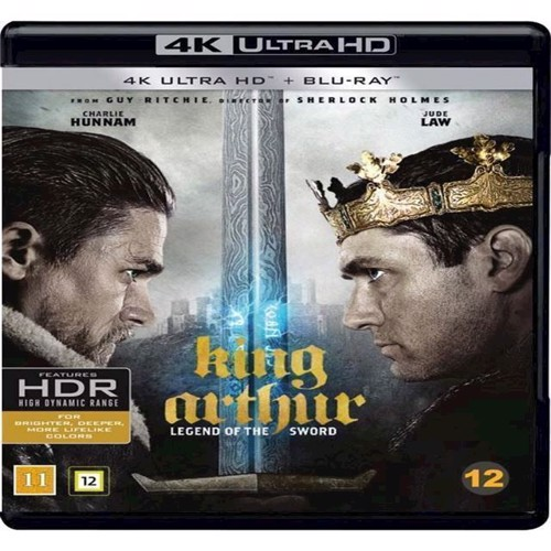 Image of King Arthur Legend Of The Sword 4K Blu-Ray (7340112738181)