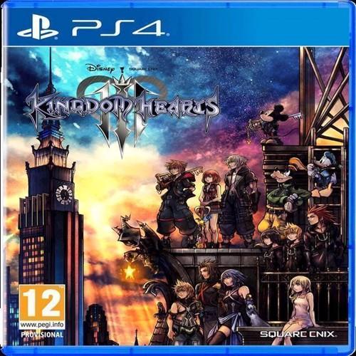 Image of Kingdom Hearts III 3 - PS4 (5021290068551)