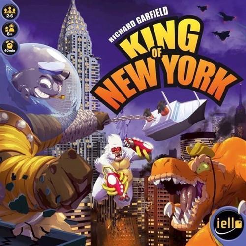 King Of New York, Brætspil, Dk/No