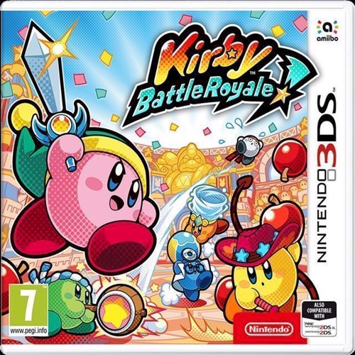 Image of Kirby Battle Royale - Nintendo 3DS