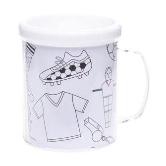 Image of mal din egen fodbold kop (5413247082060)