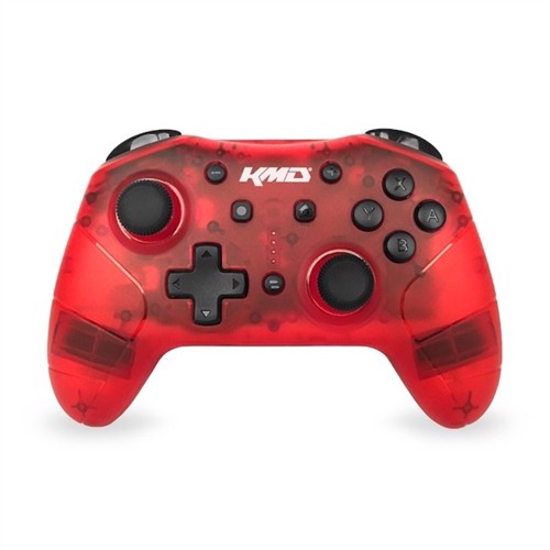 Image of KMD Nintendo Switch Pro Wireless Controller Red - Nintendo Switch (0849172011151)