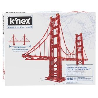 Image of KNex Architecture Building Set - Golden Gate Bridge, 1536 pcs. (0744476152404)