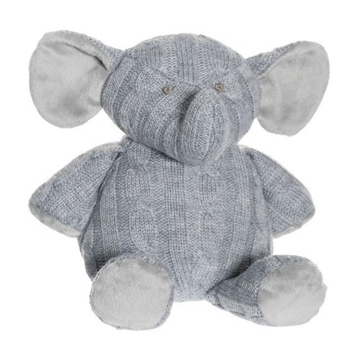 Image of Bamse, strikket elefant (7331626026383)