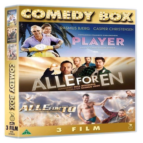 Image of Komedieboks Player Alle for n Alle for to 3disc DVD (5708758709637)
