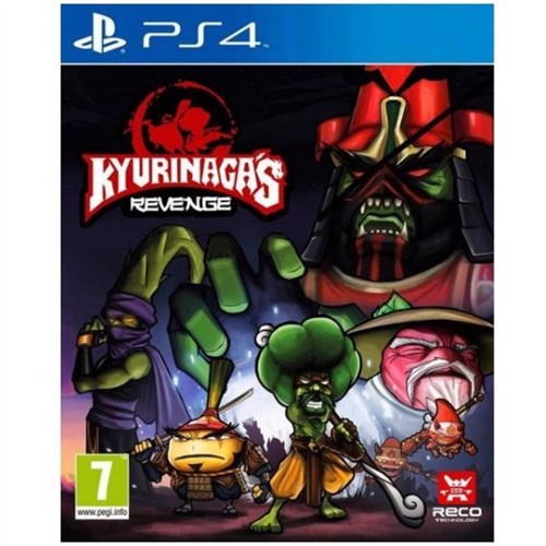 Image of Kyurinagas revenge, PS4 (8437015294070)