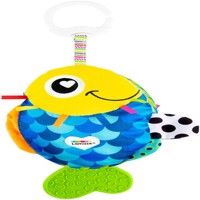 Lamaze - Flip the Fish – Clip & Go soft Baby book (27197)
