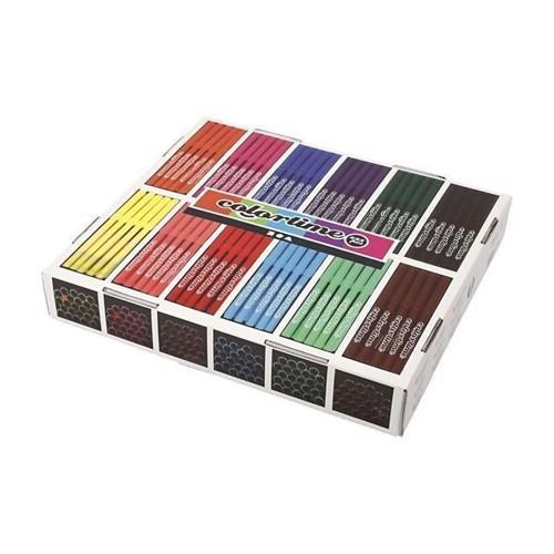 Image of Colortime - Tuscher Blandede Farver 12X24 (Storkøb)