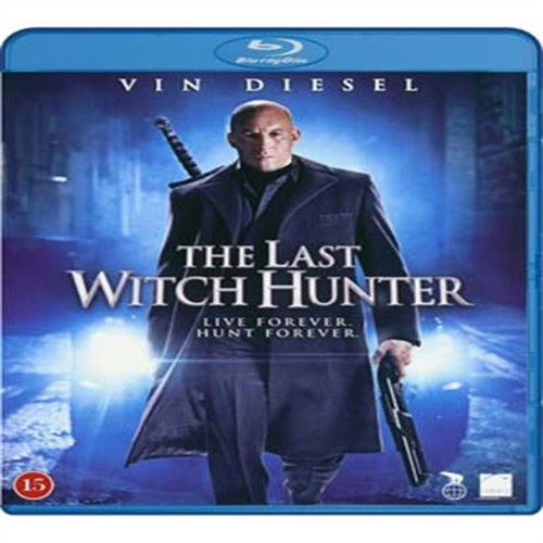 Image of The Last Witch Hunter Blu-ray (5708758709859)