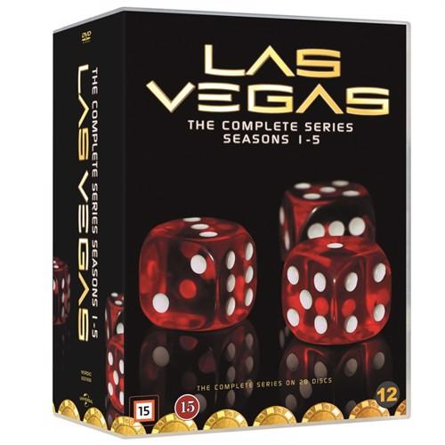 Image of Las Vegas Complete Series - Dvd (5053083216580)