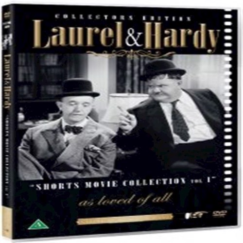 Image of Laurel Hardy Short Mo Col V1 DVD (5709165774928)
