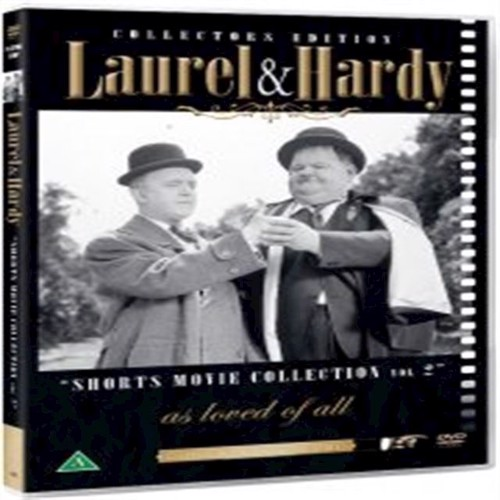 Image of Laurel Hardy Short Mo Col V2 DVD (5709165544927)