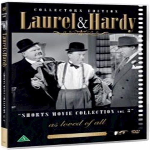 Image of Laurel Hardy Short Mo Col V3 DVD (5709165554926)