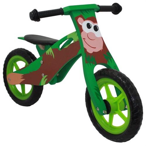 Image of Løbecykel Abe, I Træ Med Rigtige Lufthjul