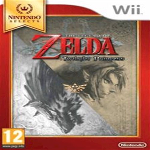 Image of Legend Of Zelda Twilight Princess Select - Wii