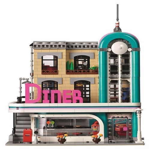 Image of LEGO Creator 10260 Downtown Diner (5702016111842)