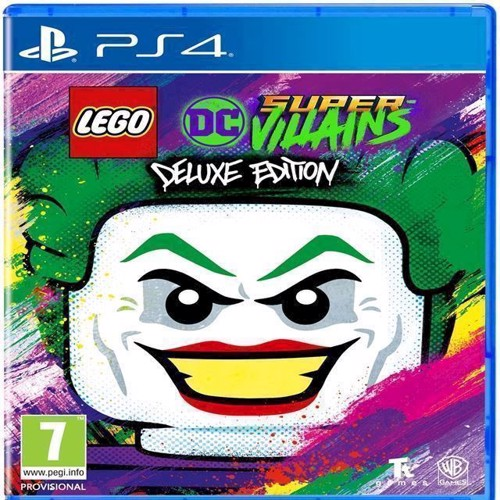 Image of LEGO DC Super Villains Deluxe Edition - PS4 (5051895411612)