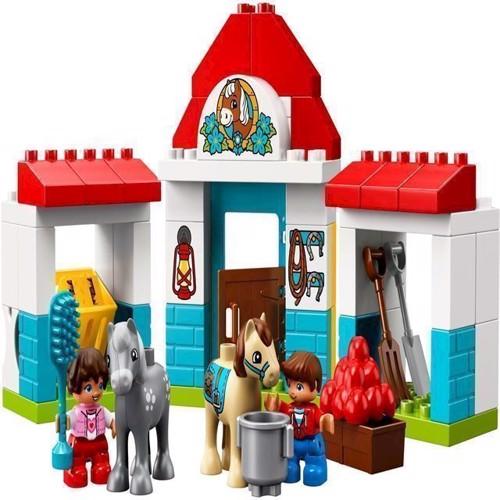Image of   Lego Duplo 10868 Bondegårdens pony stald