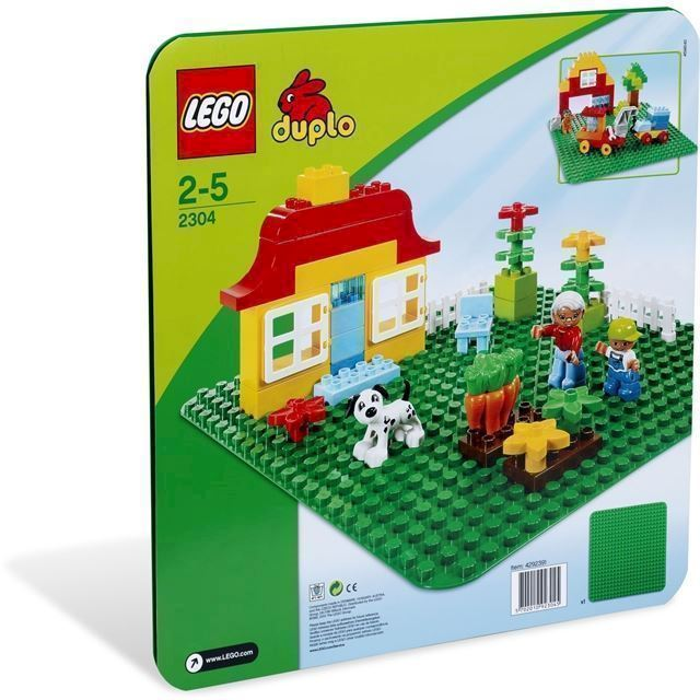 Lego Duplo 2304 Grøn Byggeplade Køber Du Billigt Her