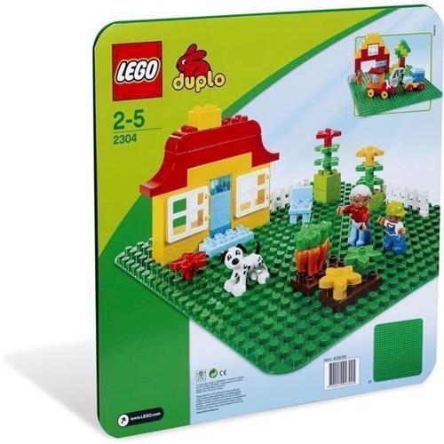 Image of   Lego Duplo 2304 grøn byggeplade