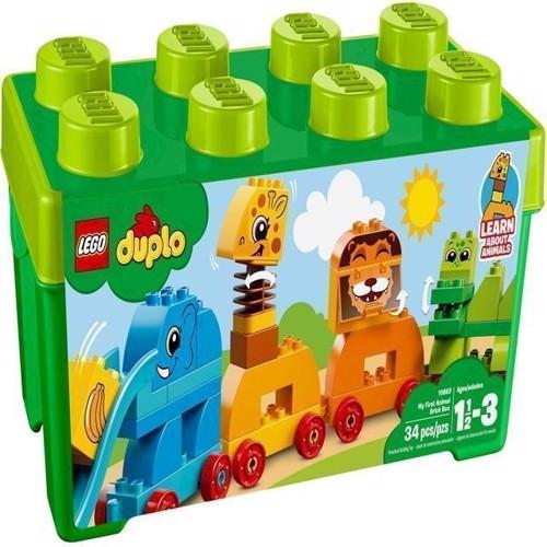 Image of   Lego Duplo 10863 mine første klodser med dyr