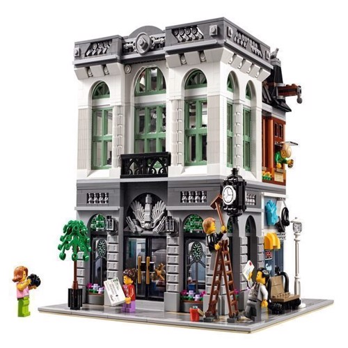 Image of LEGO Exclusive 10251 klods bank (5702015591058)